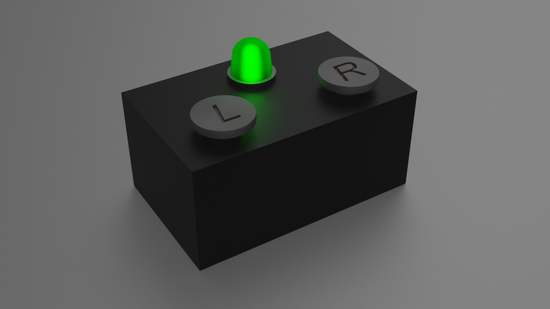 Two-button black box